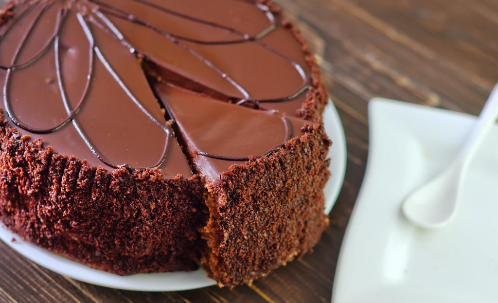 Tarta de Gourmand de chocolate Dhul